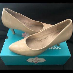 Women's Cream Color Heels